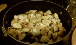 Apples and celery root